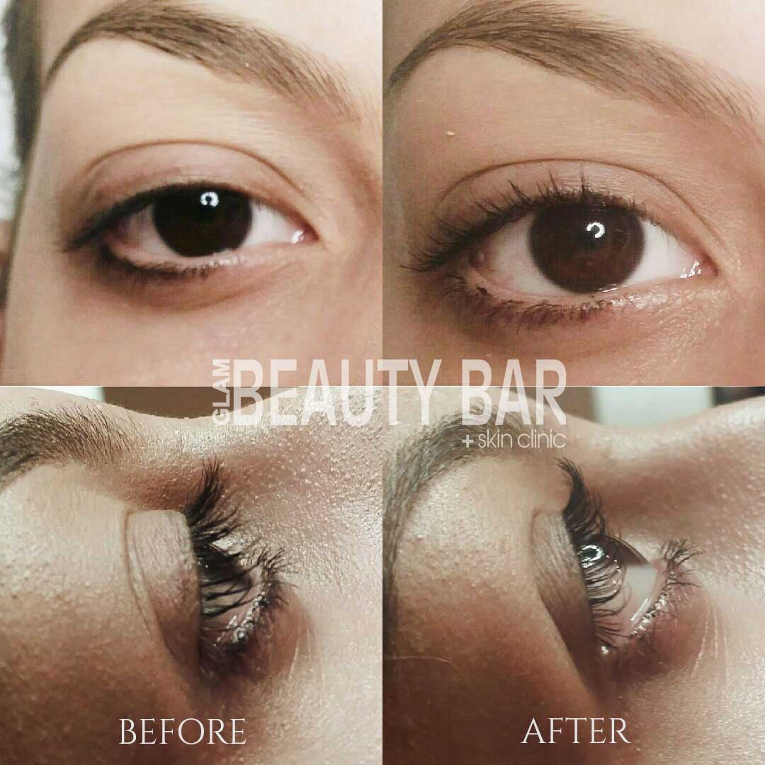 eyelash tinting and perming